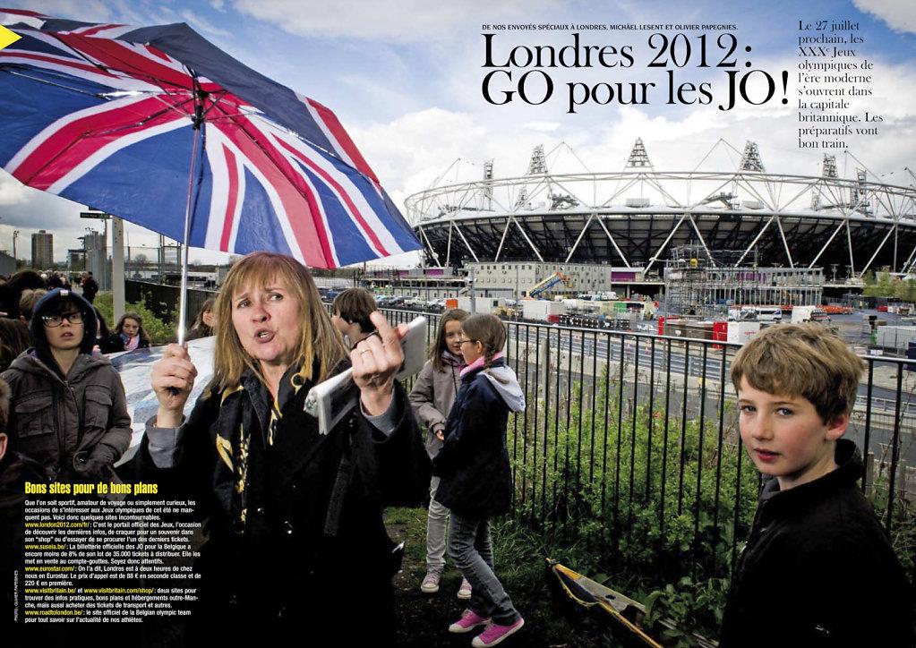 Londres 2012, 100 jours avant les JO