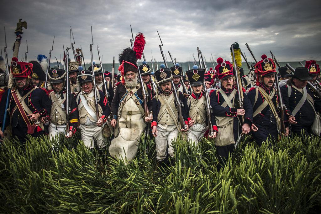 Dans les ténèbres de la bataille de Waterloo