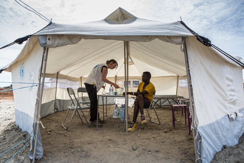 Mission Médecins du Monde à Calais