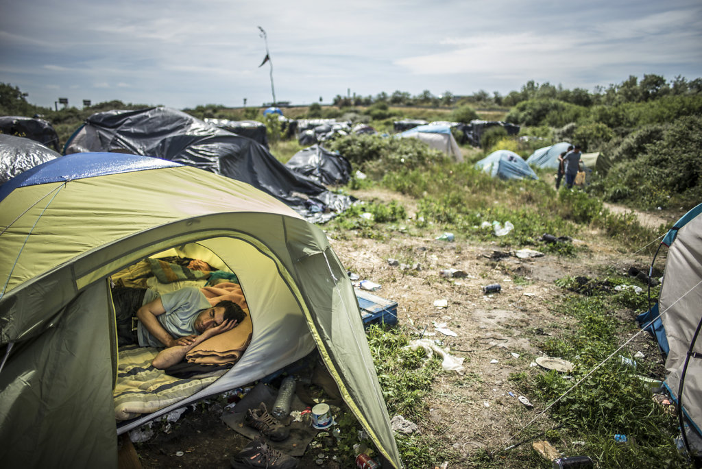 Calais, La jungle des migrants