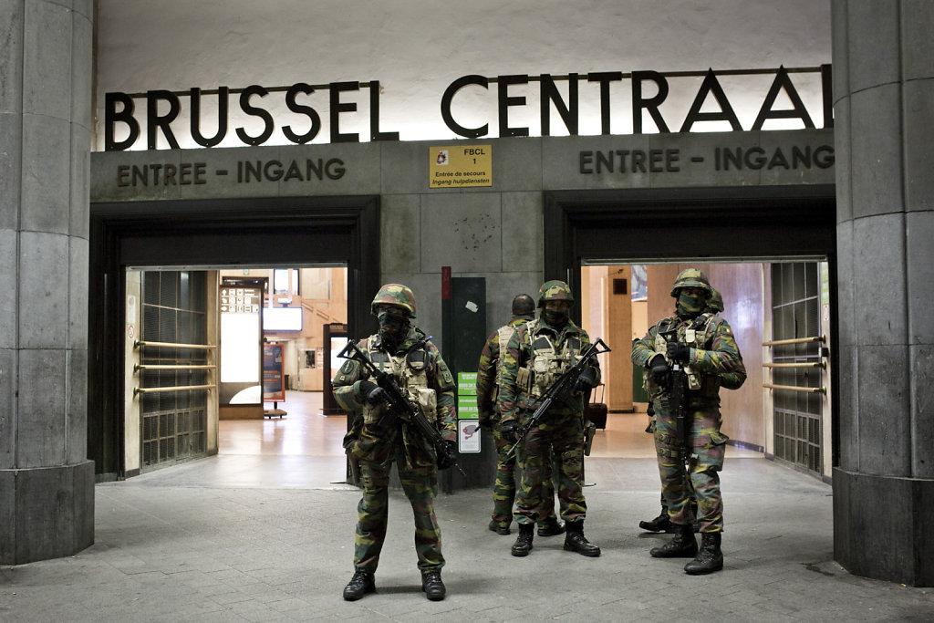 Bruxelles sous haute tension