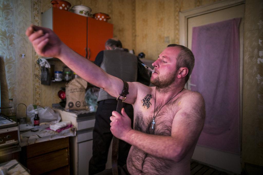 Géorgie: sur le parcours d'un usager de drogue responsable