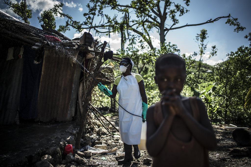 Haïti. Choléra, l'épidémie oubliée