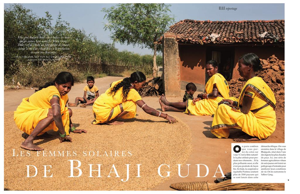 Les femmes solaires de Bhajiguda
