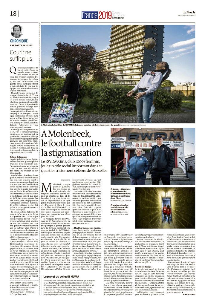 A Molenbeek, le football contre la stigmatisation