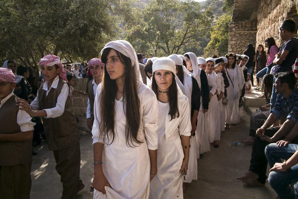 Lalesh, le pèlerinage sacré des Yézidis